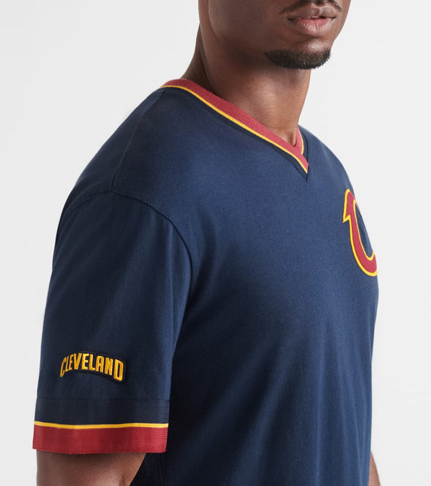 Mitchell And Ness  Cleveland Cavaliers OT Win Vintage Tee  Navy - 556T3CWACCAIH-NVY | Jimmy Jazz