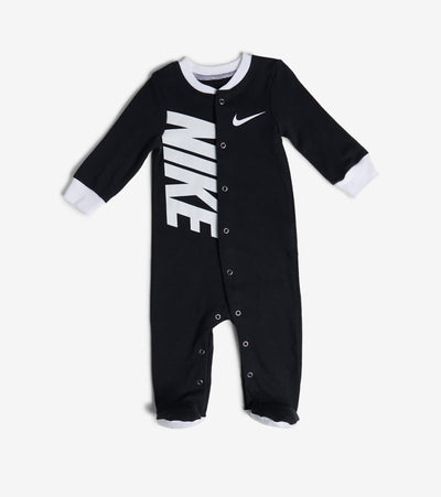 Nike  Newborn Nike Swoosh Footed Coverall  Black - 56D889-023 | Jimmy Jazz