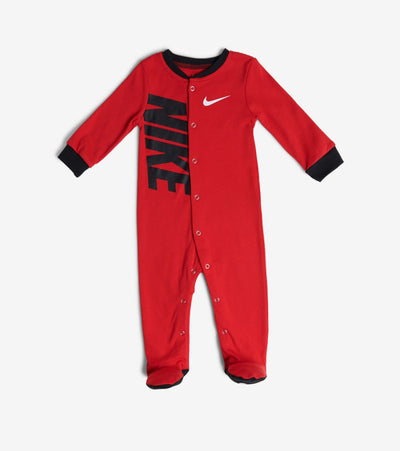 Nike  Newborn Nike Swoosh Footed Coverall  Red - 56D889-U10 | Jimmy Jazz