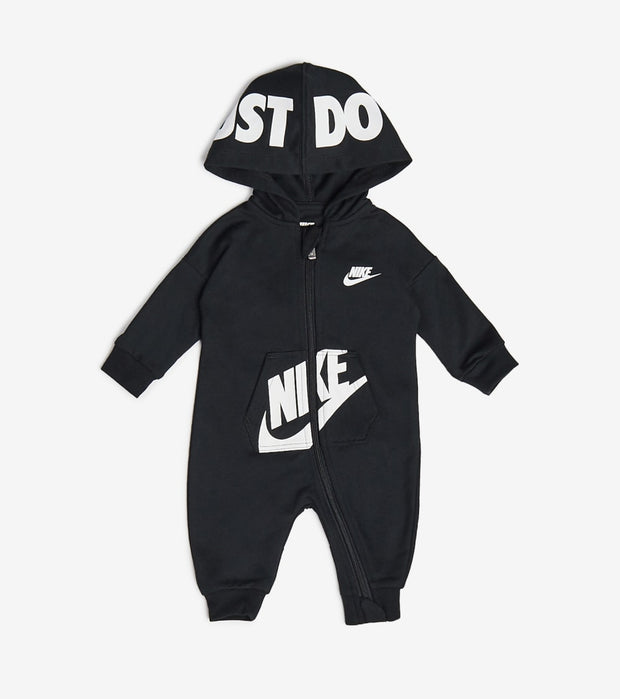 Nike  Newborn Baby Hooded Coveralls  Black - 56G805-023 | Jimmy Jazz