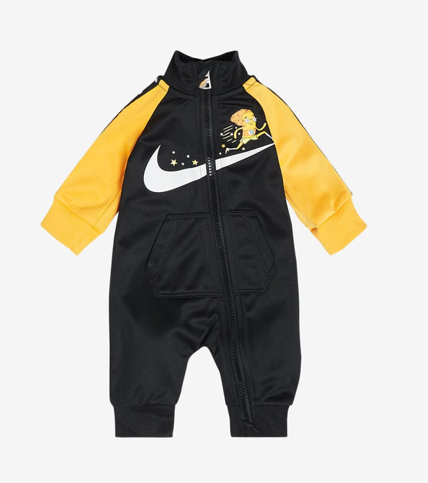 Nike  Newborn Nike Zip Coverall  Black - 56H105G-023 | Jimmy Jazz