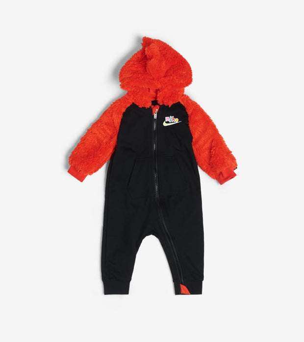 Nike  Newborn Baby Zig Zag Coveralls  Black - 56H106-023 | Jimmy Jazz