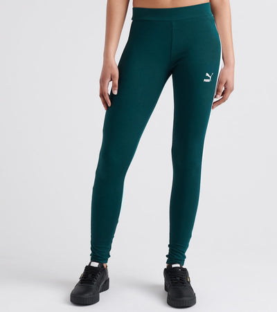 Puma  Classics Logo T7 Leggings  Green - 57507530-300 | Jimmy Jazz
