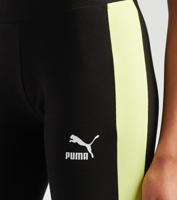Puma  Classics Logo T7 Leggings  Black - 57507551-001 | Jimmy Jazz