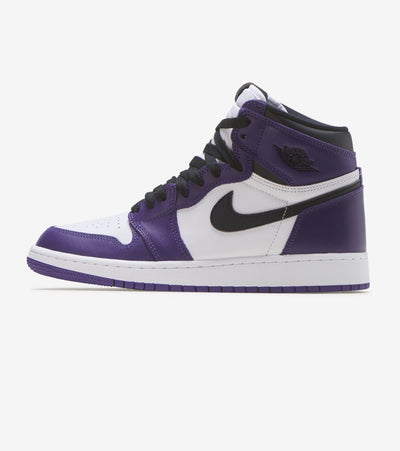 "Jordan  Air Jordan 1 Retro High ""Court Purple""  Purple - 575441-500 