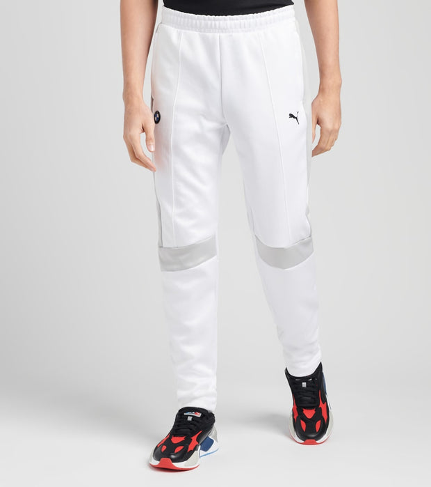 Puma  BMW Motorsport T7 Track Pants  White - 57778702-100 | Jimmy Jazz