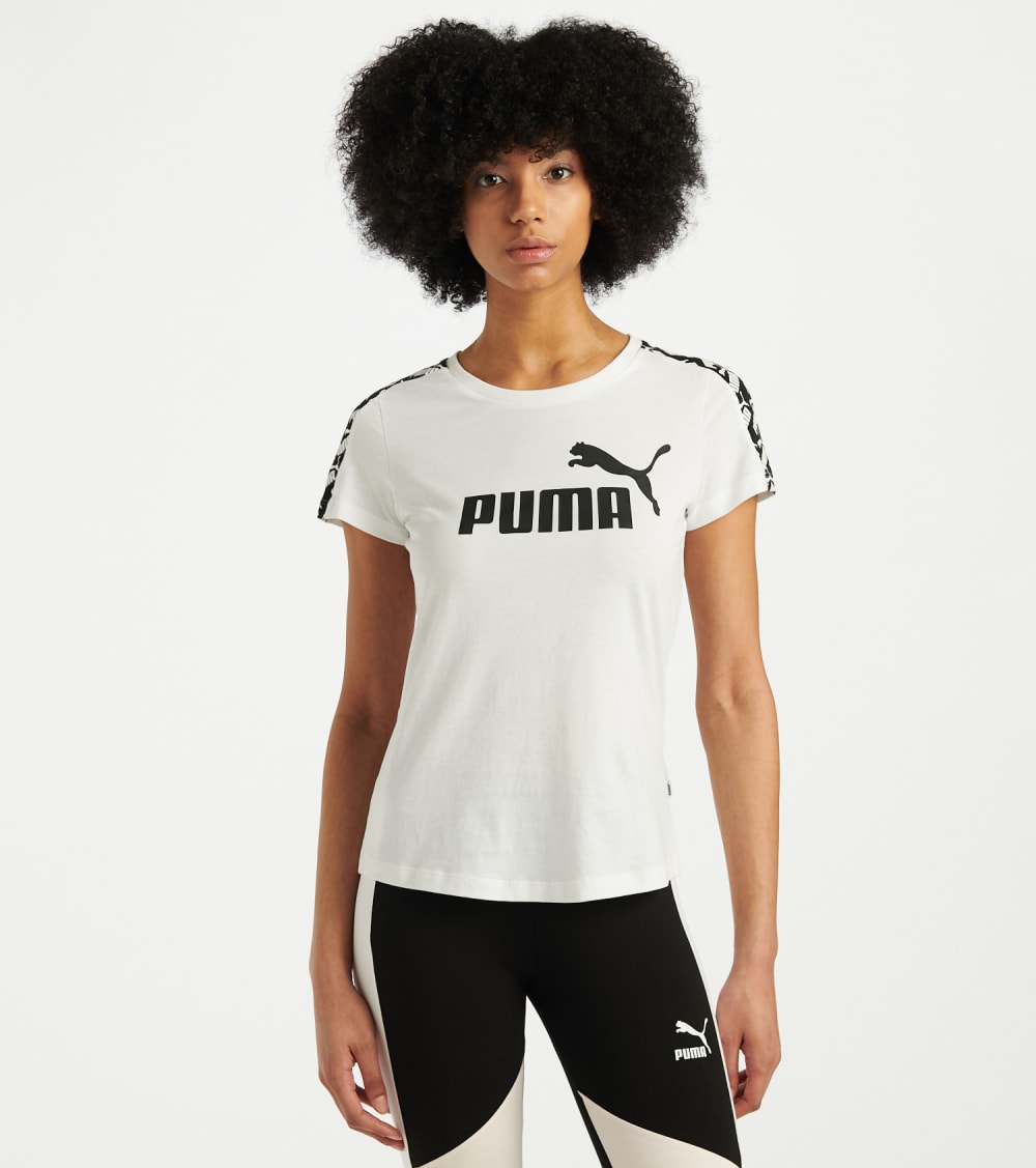 Puma  Amplified Tee  White - 58121802-100 | Jimmy Jazz