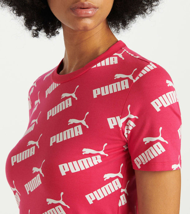 Puma  Amplified Fitted Dress  Red - 58122315-690 | Jimmy Jazz