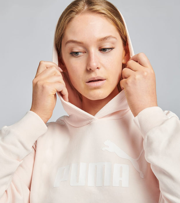 Puma  Amplified Cropped Hoodie  Pink - 58171717-690 | Jimmy Jazz