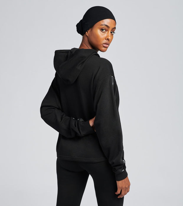 Puma  Amplified Cropped Hoodie  Black - 58361301-001 | Jimmy Jazz