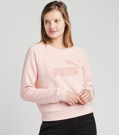 Puma  Number One Crew Neck Sweatshirt  Pink - 58466203-690 | Jimmy Jazz