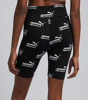 Puma  Amplified All Over Print Short Tights  Black - 58591901-001 | Jimmy Jazz