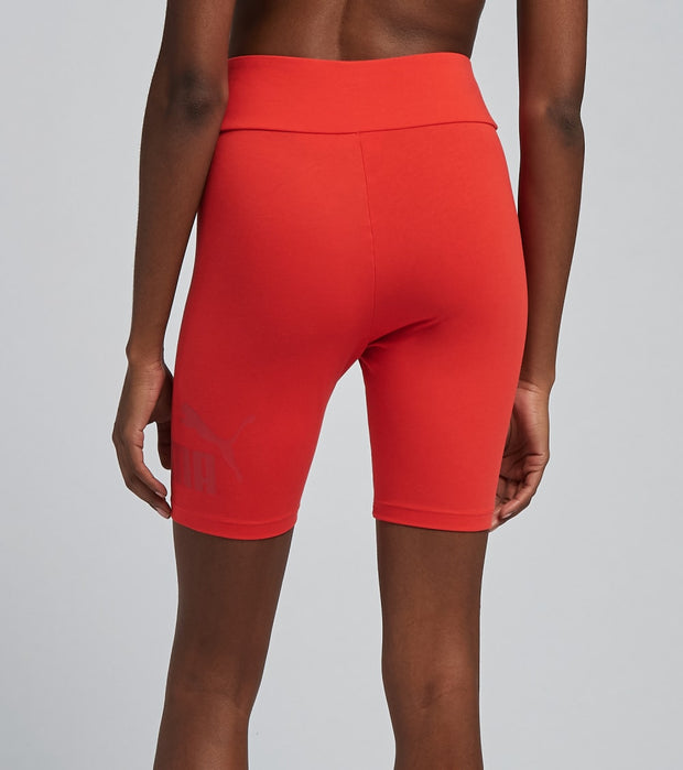 Puma  ESS 7in Logo Tight Shorts   Red - 58688823-600 | Jimmy Jazz
