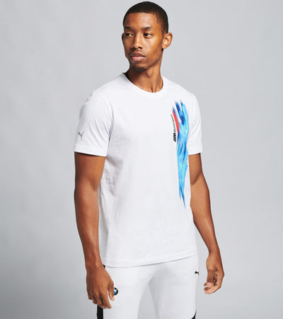 Puma  BMW M Motorsport Life Graphic Tee  White - 59517702-100 | Jimmy Jazz