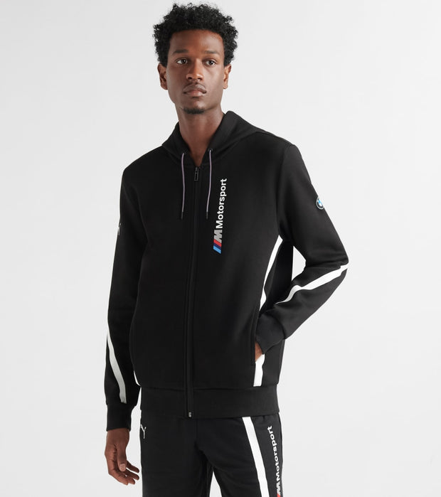 Puma  BMW Motorsport Full Zip Hoodie  Black - 59518901-001 | Jimmy Jazz