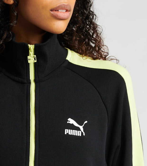 Puma  Classics T7 Track Jacket  Black - 59520451-001 | Jimmy Jazz