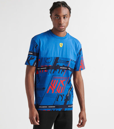 Puma  SF Street Tee  Blue - 59555306-400 | Jimmy Jazz
