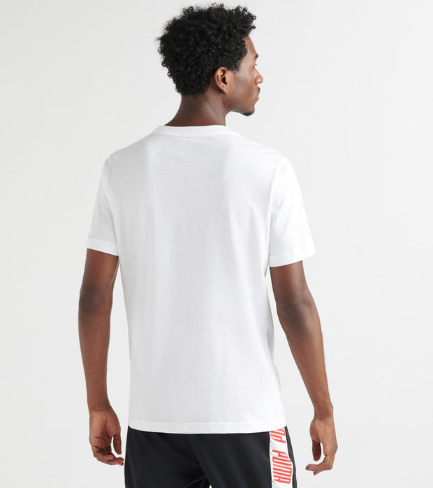 Puma  SR Big Shield SS Tee  White - 59555405-100 | Jimmy Jazz