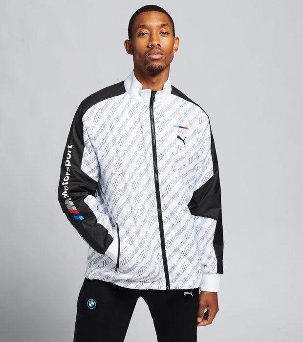 Puma  BMW M Motorsport Street Jacket  White - 59607802-100 | Jimmy Jazz
