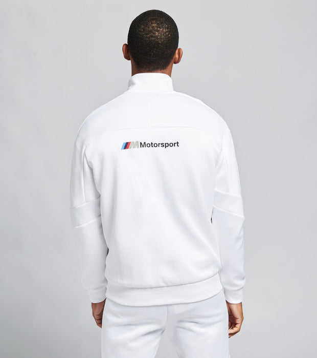 Puma  BMW Motorsport T7 Track Jacket  White - 59609402-100 | Jimmy Jazz