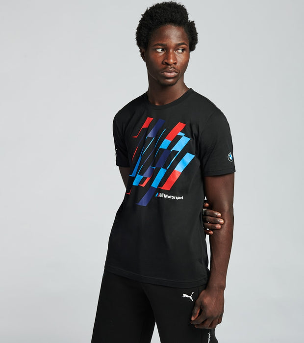 Puma  BMW MMS Graphic  Tee   Black - 59610901-001 | Jimmy Jazz