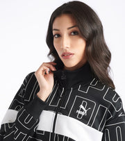 Puma  All Over Print Track Jacket  Black - 59625101-001 | Jimmy Jazz