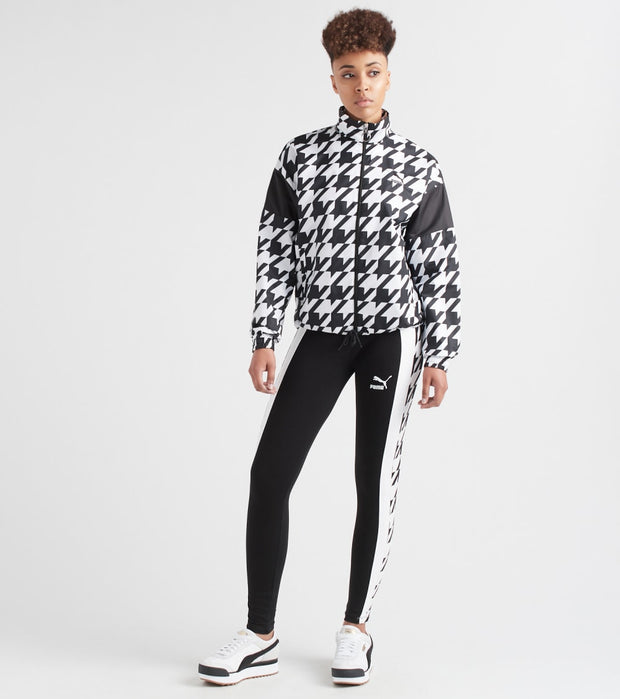 Puma  Trend Houndstooth Jacket  Black - 59673501-001 | Jimmy Jazz