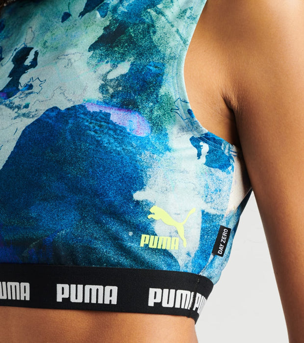 Puma  Central Saint Martin All Over Print Top  White - 59718102-100 | Jimmy Jazz