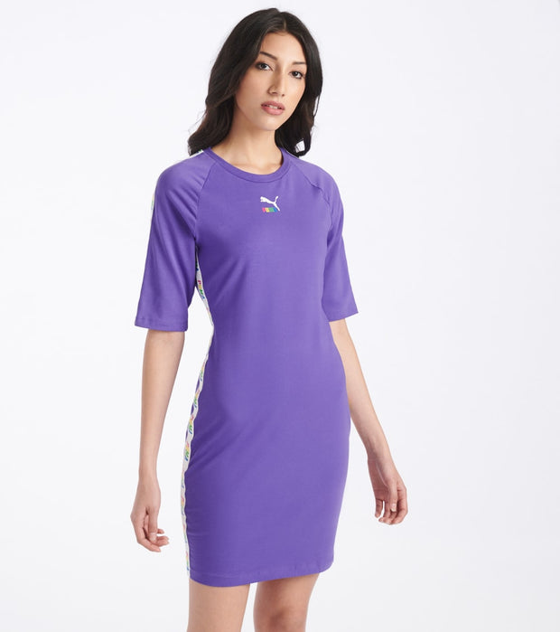 Puma  Tape Dress  Purple - 59786102-500 | Jimmy Jazz