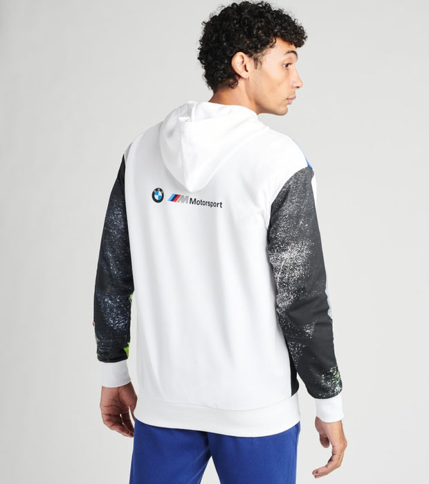 Puma  BMW Motorsport Street Pullover Hoodie  White - 59797202-100 | Jimmy Jazz