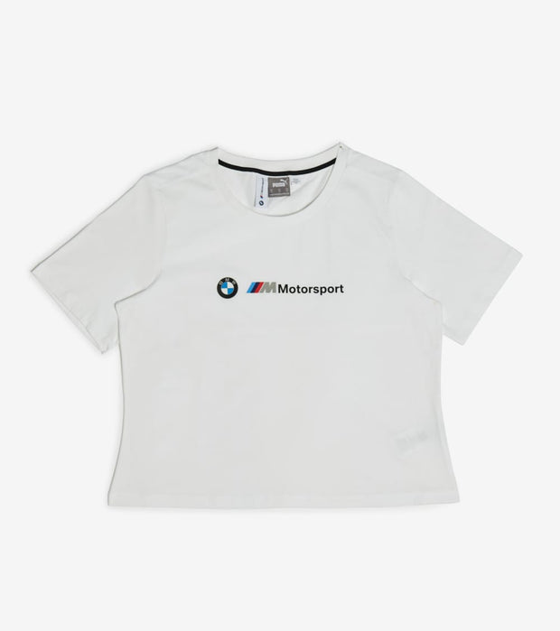 Puma  BMW M Motorsport Logo Tee  White - 59802202-100 | Jimmy Jazz