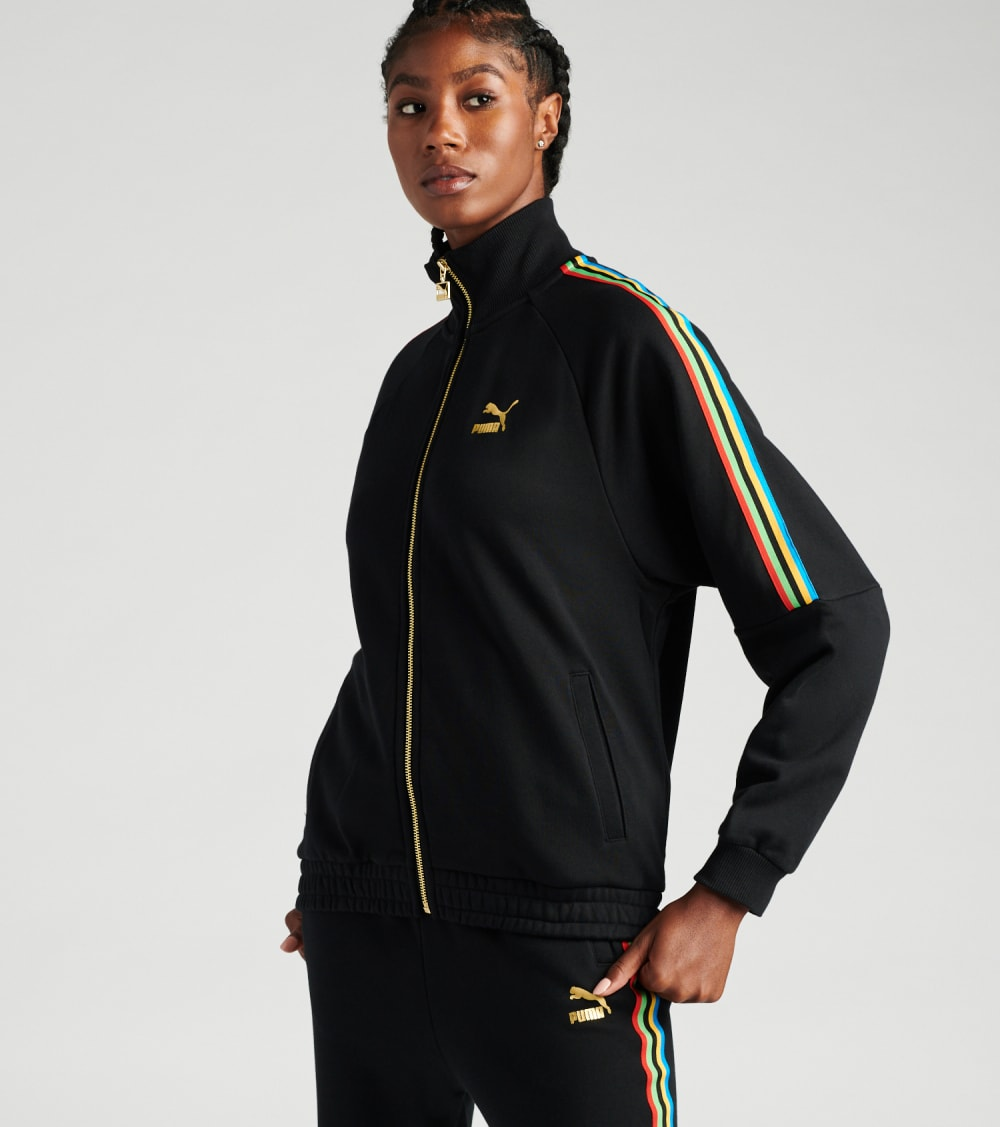 Puma  Unity Collection T7 Track Jacket  Black - 59836951-001 | Jimmy Jazz