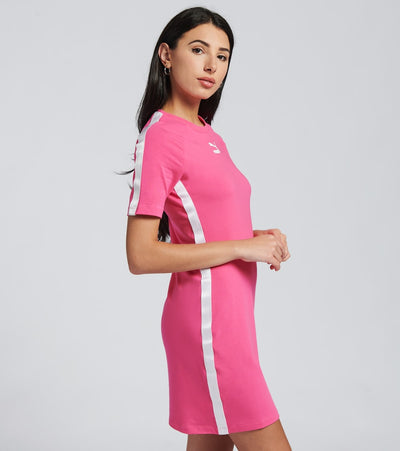 Puma  Tape Dress  Pink - 59895625-690 | Jimmy Jazz