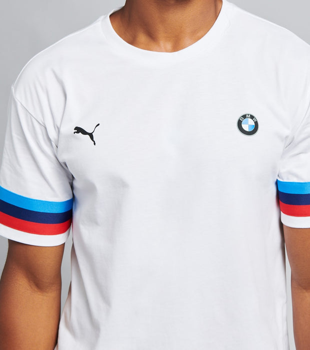 Puma  BMW Motorsport Tee  White - 59904002-100 | Jimmy Jazz