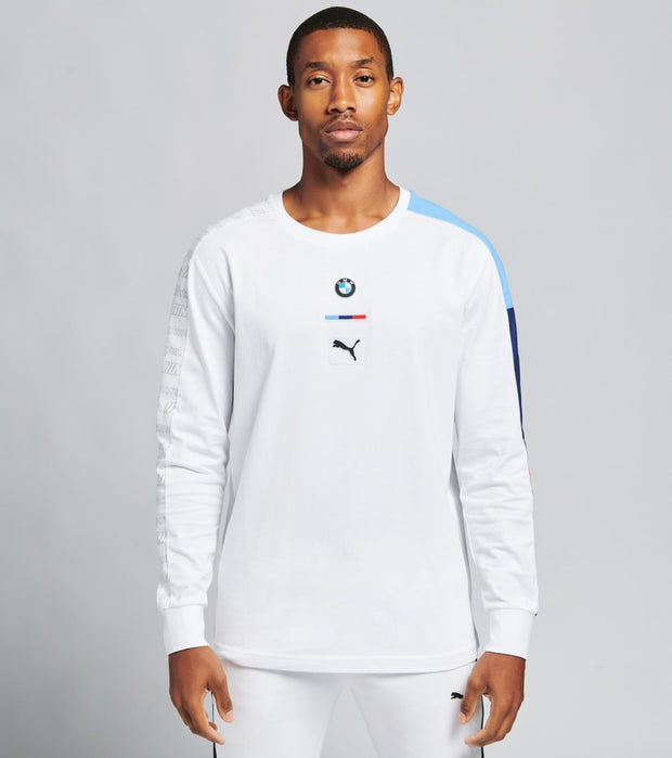Puma  BMW Motorsport Long Sleeve Tee  White - 59939502-100 | Jimmy Jazz