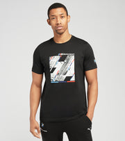 Puma  BMW M Motorsport Graphic Tee  Black - 59952801-001 | Jimmy Jazz