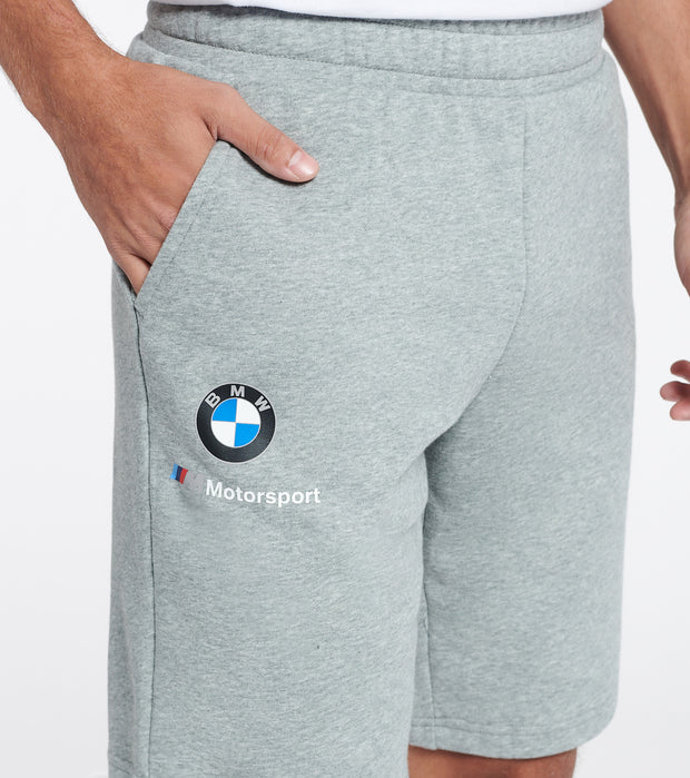 Puma  BMW M Motorsport Essential Sweat Shorts  Grey - 59953203-060 | Jimmy Jazz