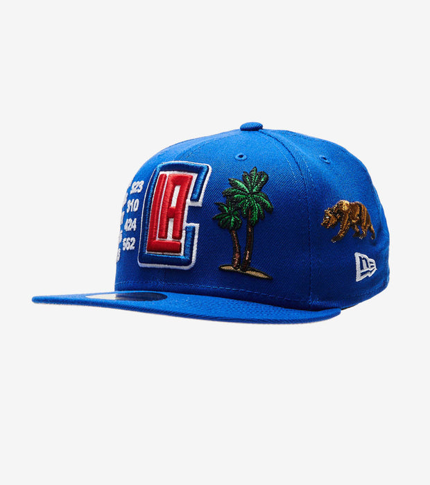 New Era  Clippers Local Market Fitted Cap  Blue - 60051266-ERA | Jimmy Jazz