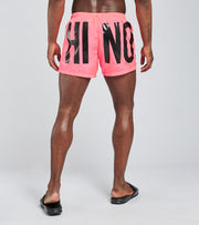 Moschino  Max Logo Nylon Shorts  Pink - 61452335-0206 | Jimmy Jazz