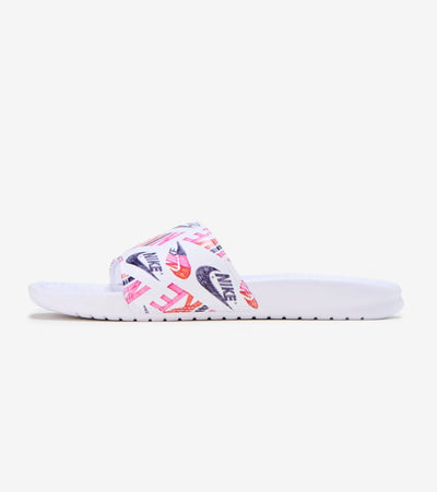Nike  Benassi Jdi Slide   White - 618919-119 | Jimmy Jazz