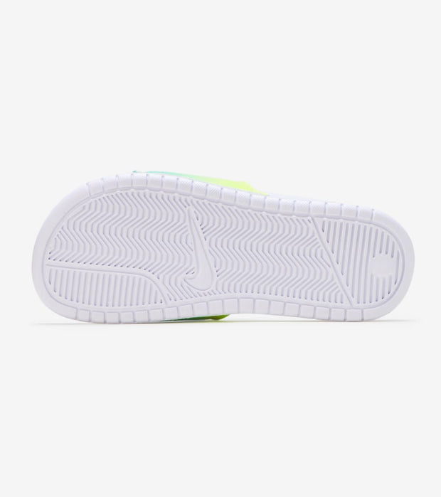 Nike  Benassi Just Do It Slide  Green - 618919-121 | Jimmy Jazz
