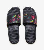 Nike  Benassi JDI Print Slide  Black - 631261-023 | Jimmy Jazz