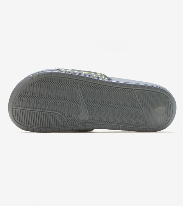 Nike  Benassi JDI Print Slide  Grey - 631261-033 | Jimmy Jazz