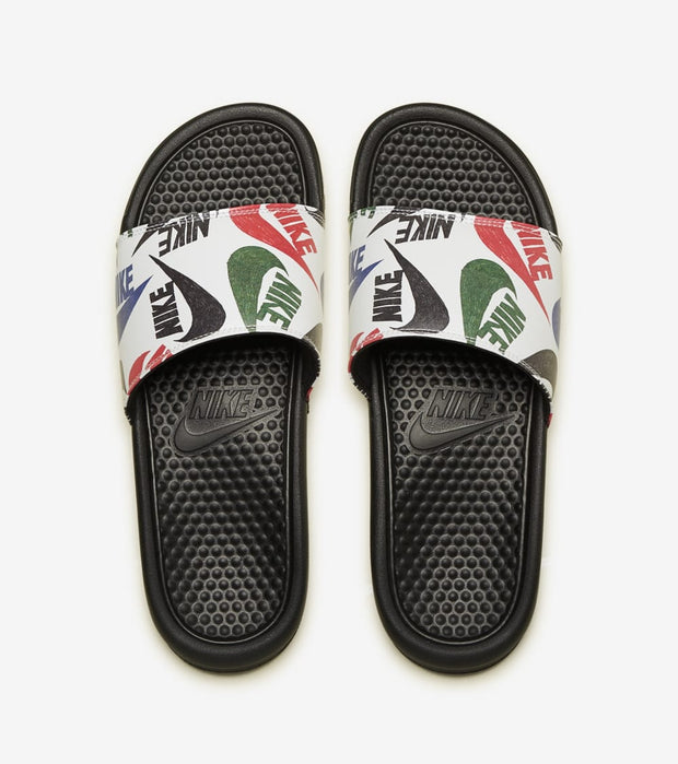 Nike  Benassi  JDI Print Slide  Black - 631261-035 | Jimmy Jazz