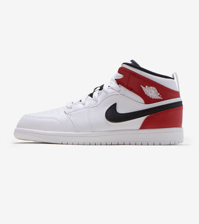 Jordan  1 Mid Shoe  White - 640734-116 | Jimmy Jazz