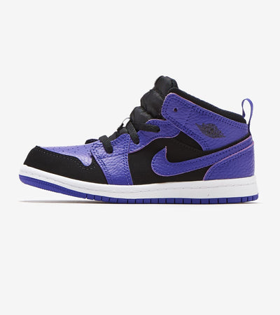 Jordan  1 Mid Sneaker  Blue - 640735-051 | Jimmy Jazz