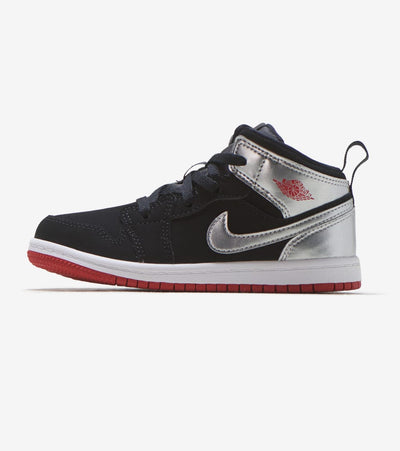 Jordan  Air Jordan 1 Mid  Black - 640735-057 | Jimmy Jazz