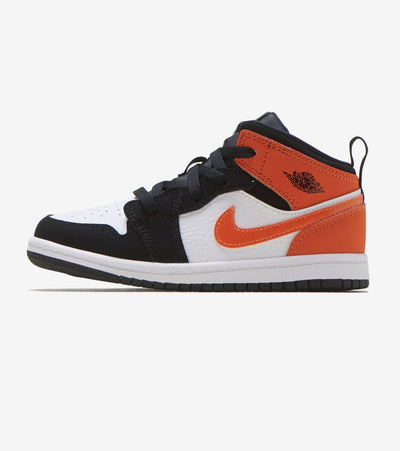Jordan  Air Jordan 1 Mid  Black - 640735-058 | Jimmy Jazz