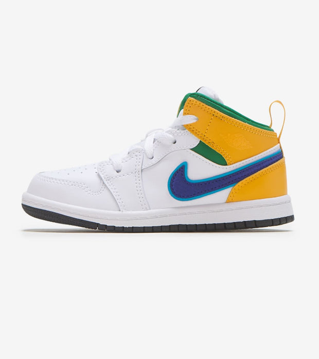 Jordan  Air Jordan 1 Mid  White - 640735-128 | Jimmy Jazz