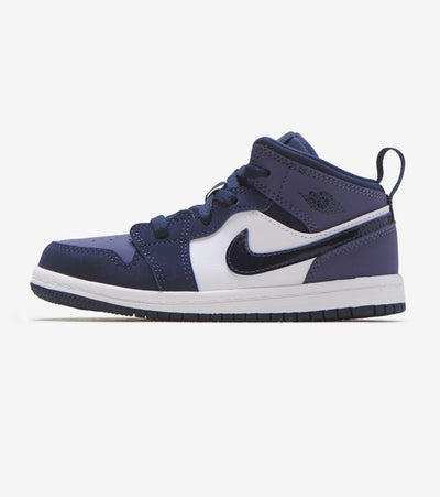 Jordan  Air Jordan 1 Mid  Navy - 640735-445 | Jimmy Jazz